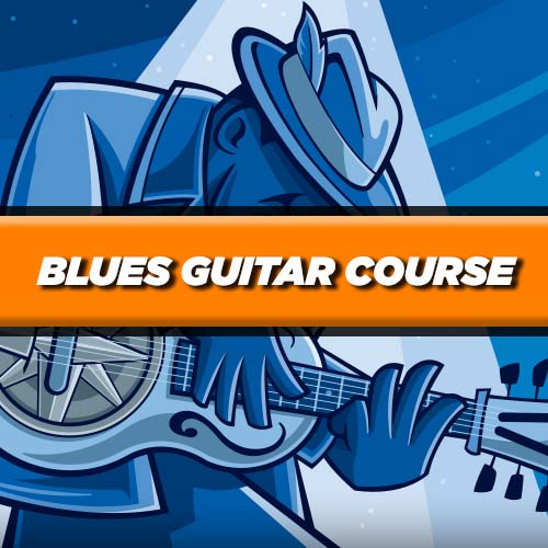 Blues-guitar-free-course